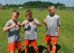 Zawodnicy akademii piłkarskiej hattrick